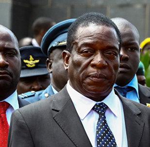Emmerson Mnangagwa, exvicepresidente de Zimbabue
