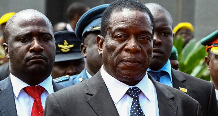 Emmerson Mnangagwa, el presidente de Zimbabue