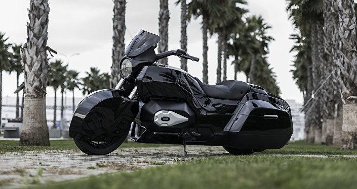 La motocicleta Izh, desarrollada por la empresa Kalashnikov en el marco del proyecto Kortezh