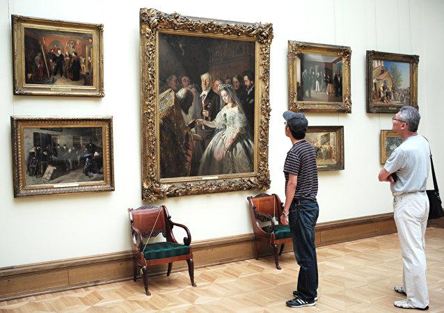 La galería estatal Tretiakov de Moscú (archivo)