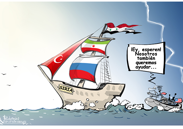 Rusia, Irán y Turquía se reunieron para discutir el futuro de Siria tras el fin del conflicto en el país