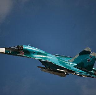 Su-34 de las FFAA de Rusia