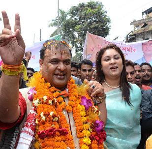 El ministro indio de Sanidad del estado indio de Assam, Himanta Biswa Sarma