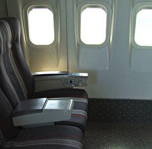Las ventanillas del avión (imagen ilustrativa)