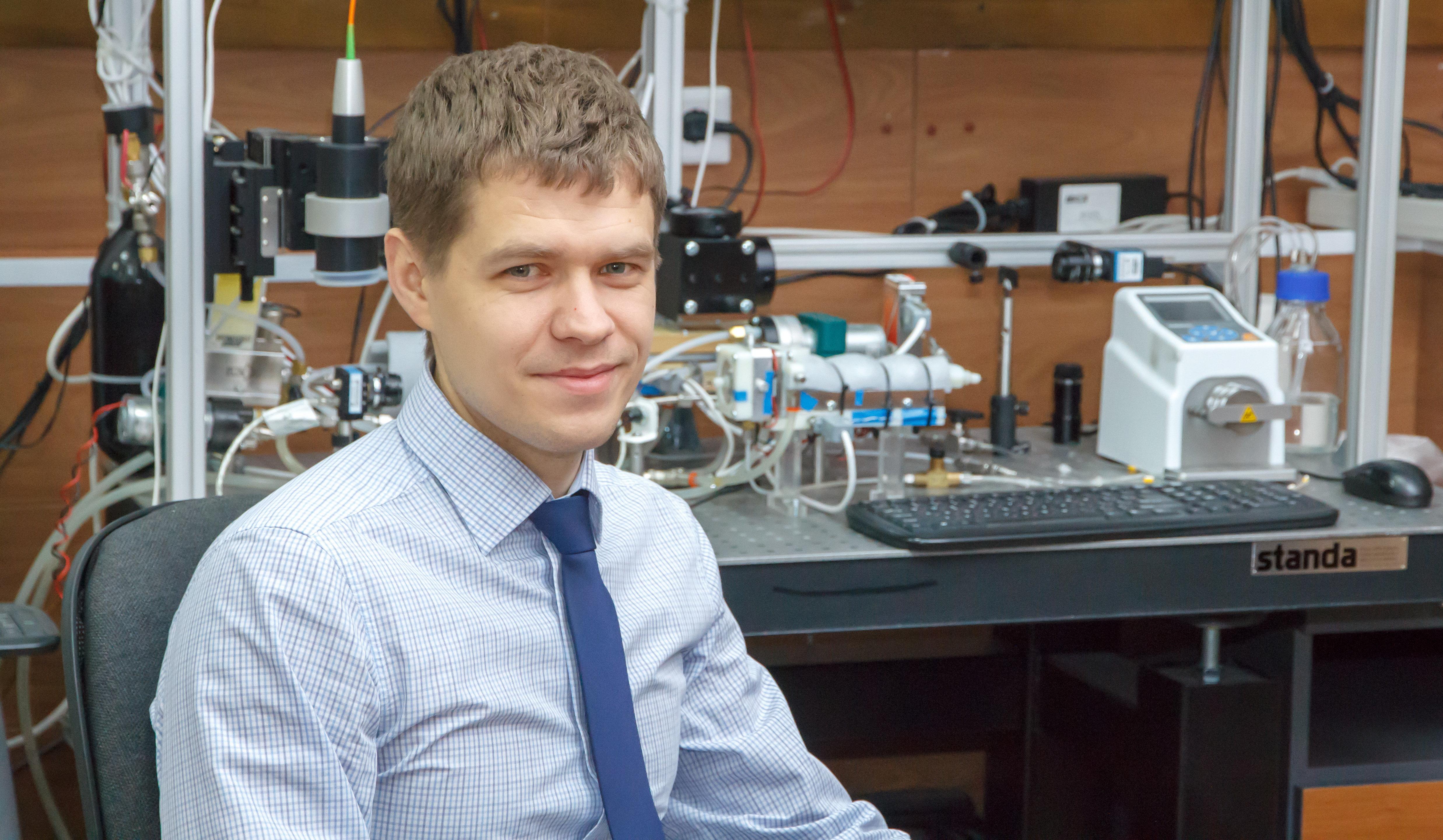 Pável Strizhak, jefe del Departamento de automatización de procesos termoenergéticos de la TPU