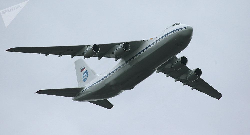 Avión ruso An-124 (archivo)
