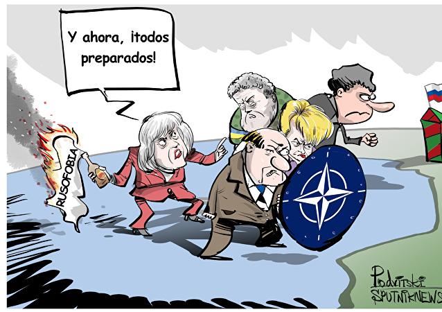 La primera ministra del Reino Unido, Theresa May, calificó a Rusia como un Estado hostil