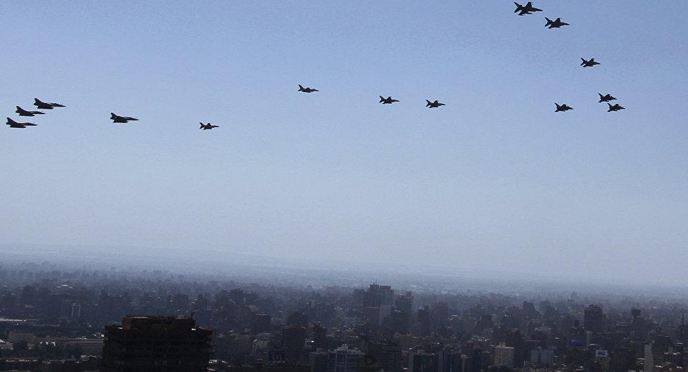 Cazas de las Fuerzas Aéreas de Egipto