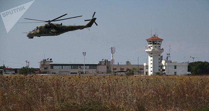 El grupo aéreo ruso desplegado en la base siria de Hmeimim (archivo)