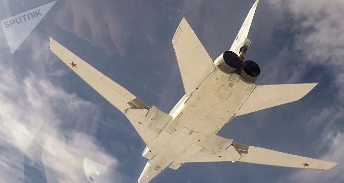 El bombardero ruso Tu-22M3 (archivo)