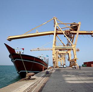 Puerto yemení de Hodeida (Archivo)