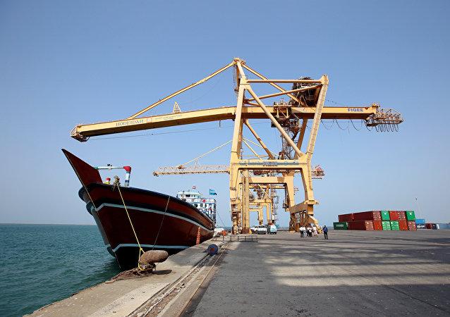 Puerto yemení de Al Hudayda