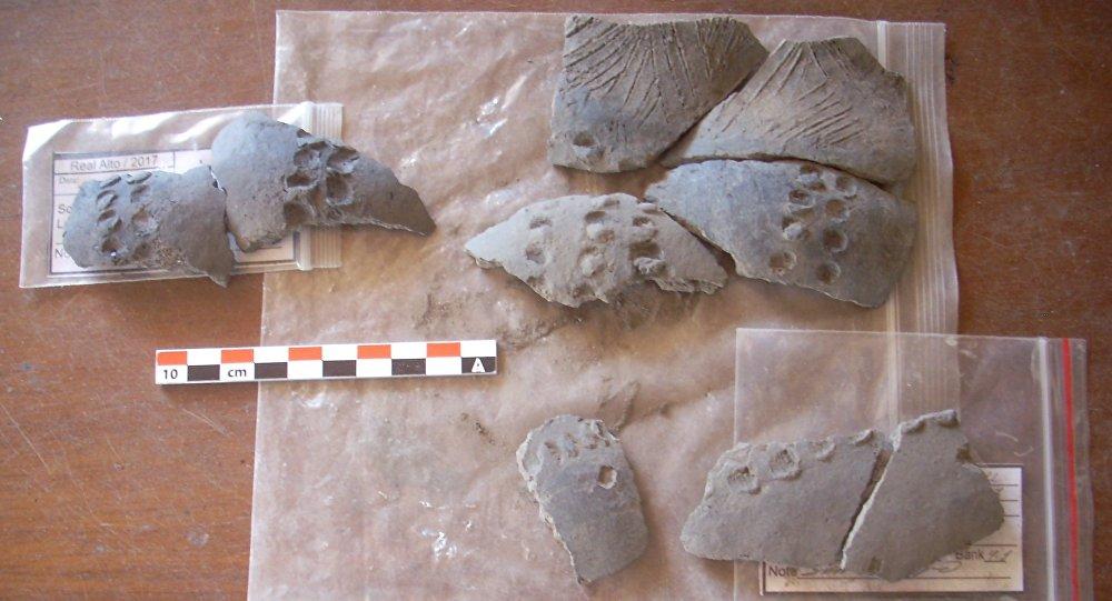 La cerámica precolombina de Real Alto, descubierta por arqueólogos rusos