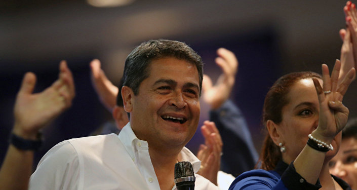 Juan Orlando Hernández, presidente de Honduras (archivo)