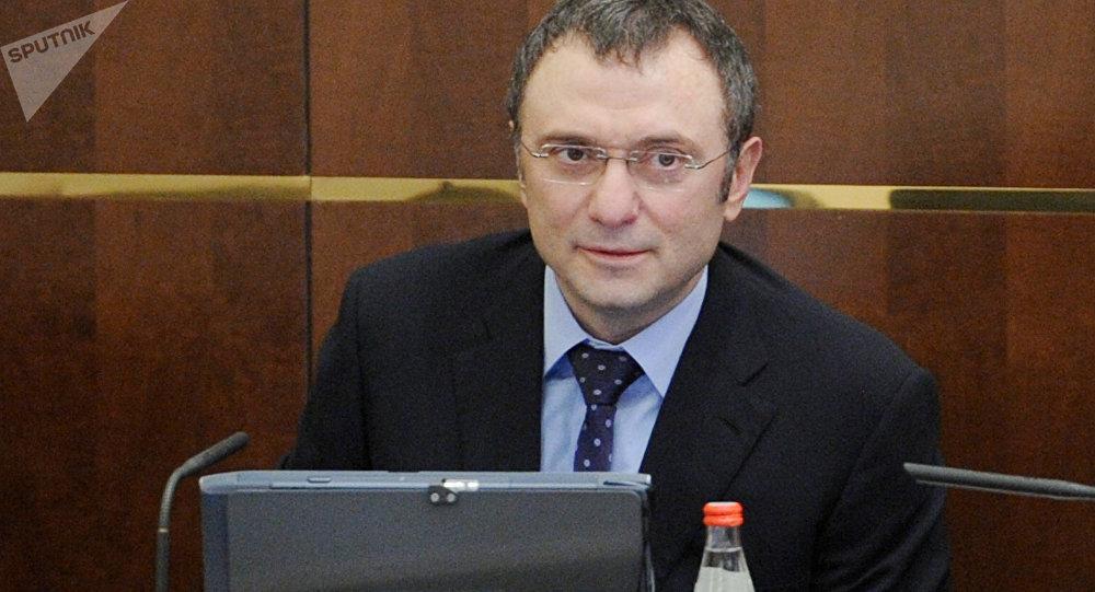 Suleimán Kerímov, senador ruso (archivo)