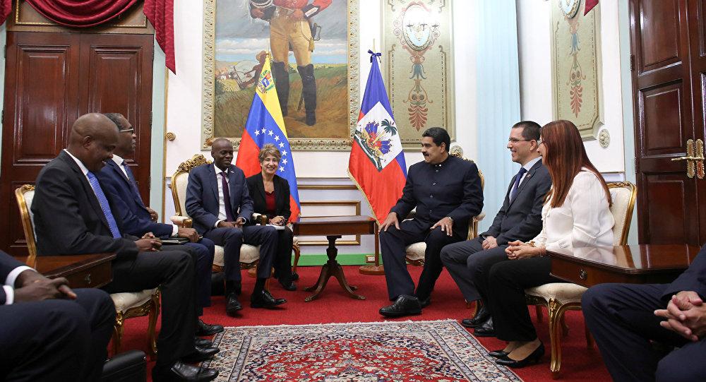 Presidente de Haití llegó a Venezuela para sostener reunión con Nicolás Maduro
