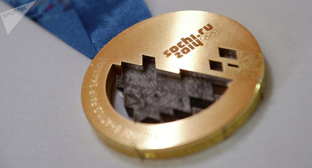 Medalla del oro de JJOO 2014