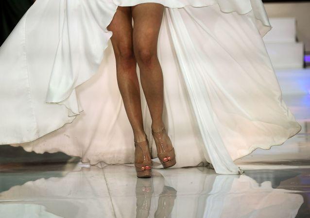 Duelo de bellezas en el certamen Miss Moscú