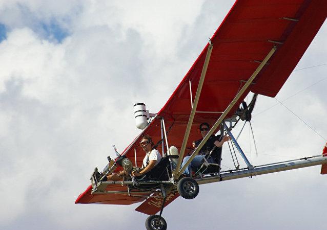 Un avión ultraligero Dragonfly, inagen ilustrativa