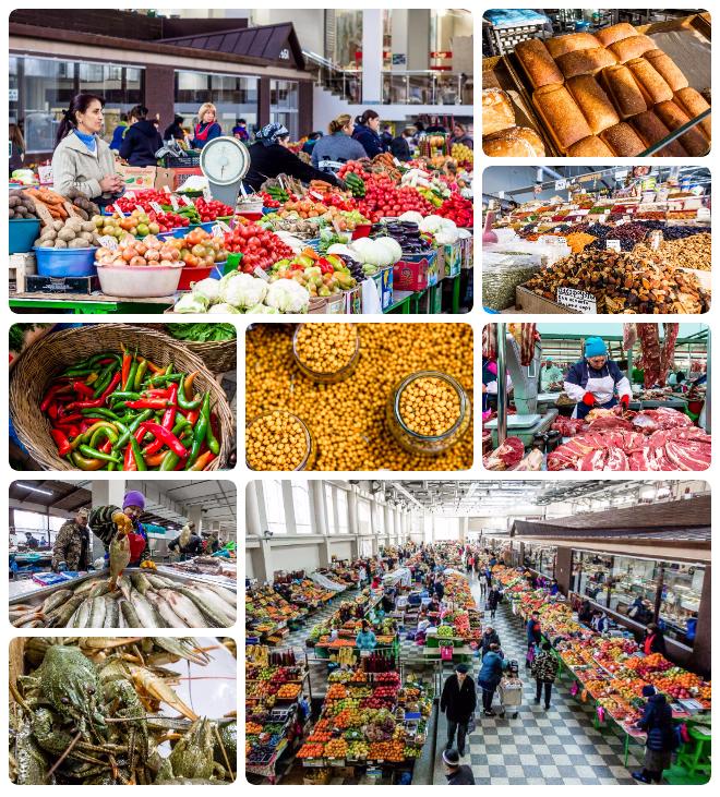 El Mercado Central abre todos los días de las 4:00 a.m. a 08:00 p.m.