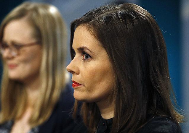 Katrin Jakobsdottir, nueva primera ministra de Islandia