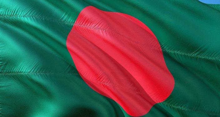 La bandera de Bangladés