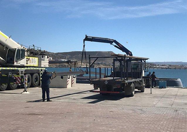 El navío Islas Malvinas