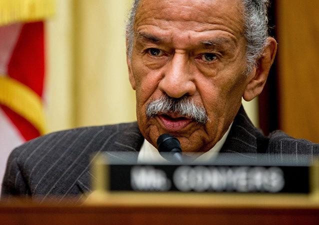 John Conyers Jr., legislador del Partido Demócrata de EEUU