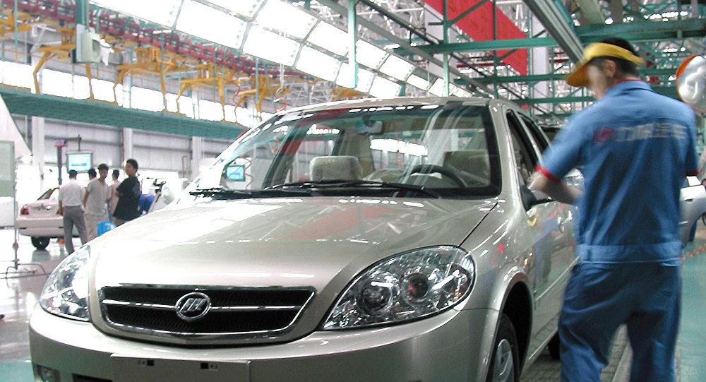Fábrica de automóviles de la campaña china Lifan