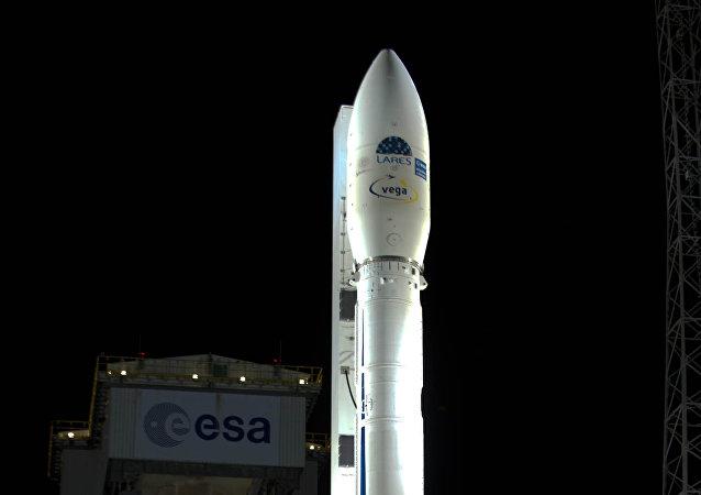 El cohete Vega (archivo)