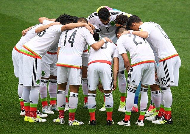 La selección mexicana de fútbol (archivo)