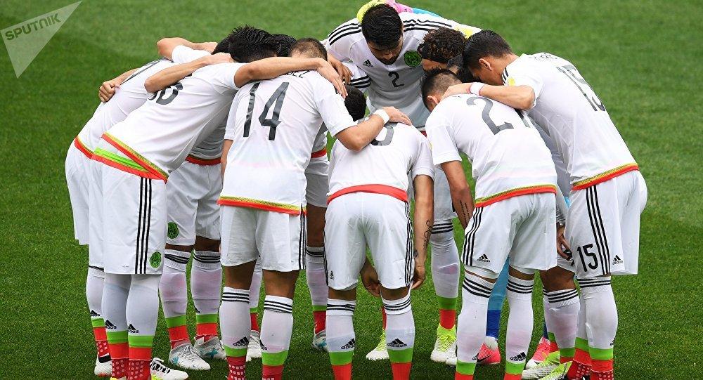 La selección mexicana durante la Copa Confederaciones 2017