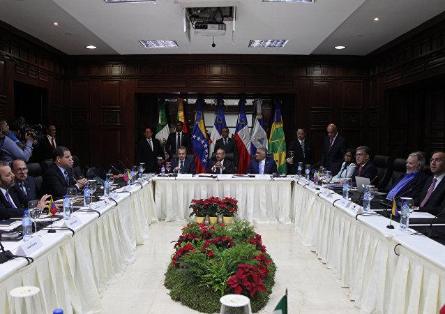 Diálogo entre Gobierno y oposición de Venezuela