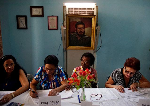 Votaciones en Cuba (archivo)