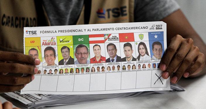 Elecciones en Honduras (archivo)