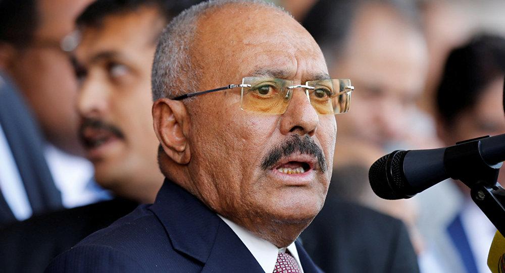 Alí Abdalá Salé, expresidente de Yemen (archivo)