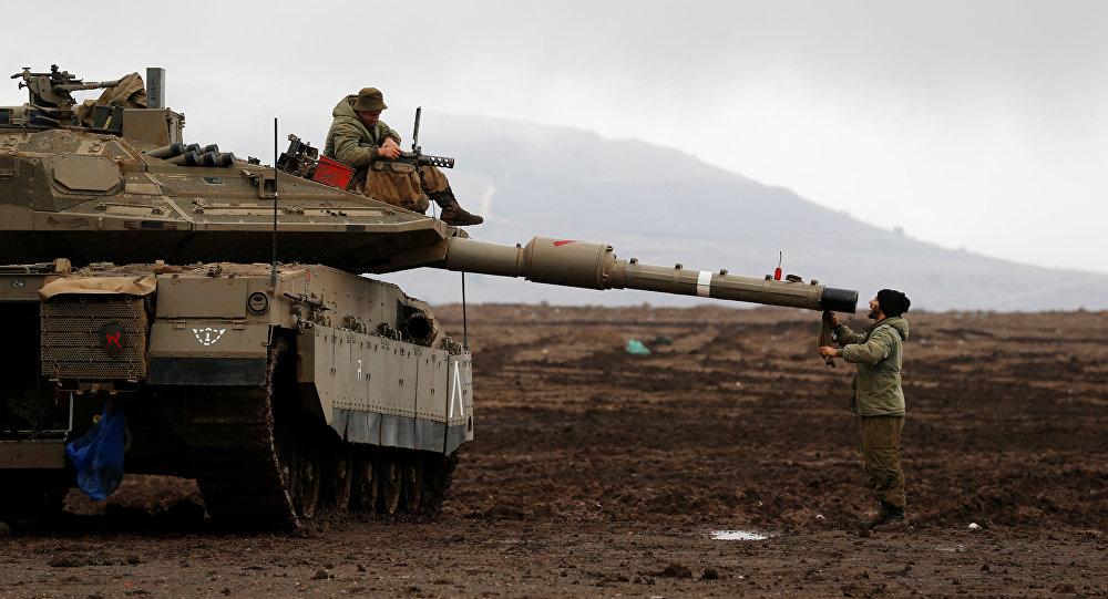 Israel lanza misiles contra posiciones del Ejército sirio
