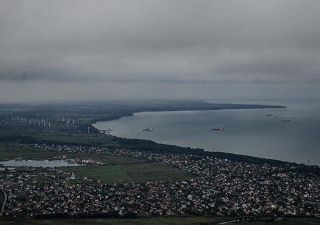 La costa del mar Báltico