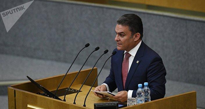 José Serrano, expresidente de la Asamblea Nacional de Ecuador