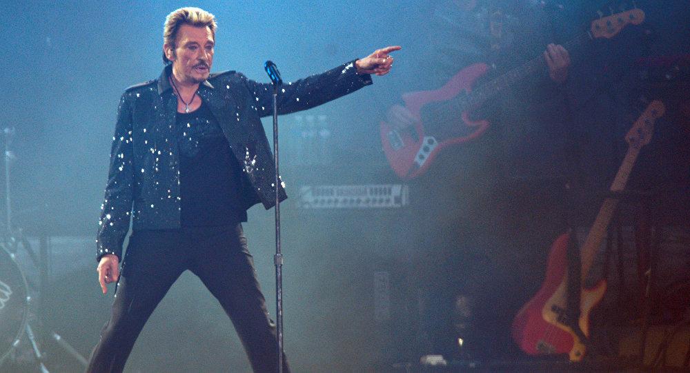 Fallece el celebre cantautor francés Johnny Hallyday