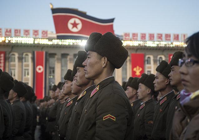 Militares norcoreanos (imagen referencial)