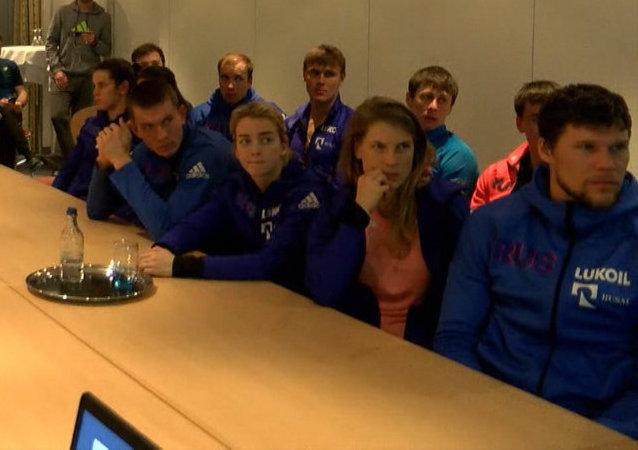 Con un nudo en la garganta: los deportistas rusos hablan sobre la decisión del COI