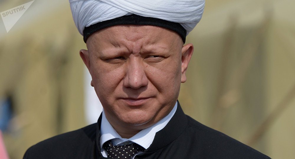 Albir Krgánov, el muftí de Moscú