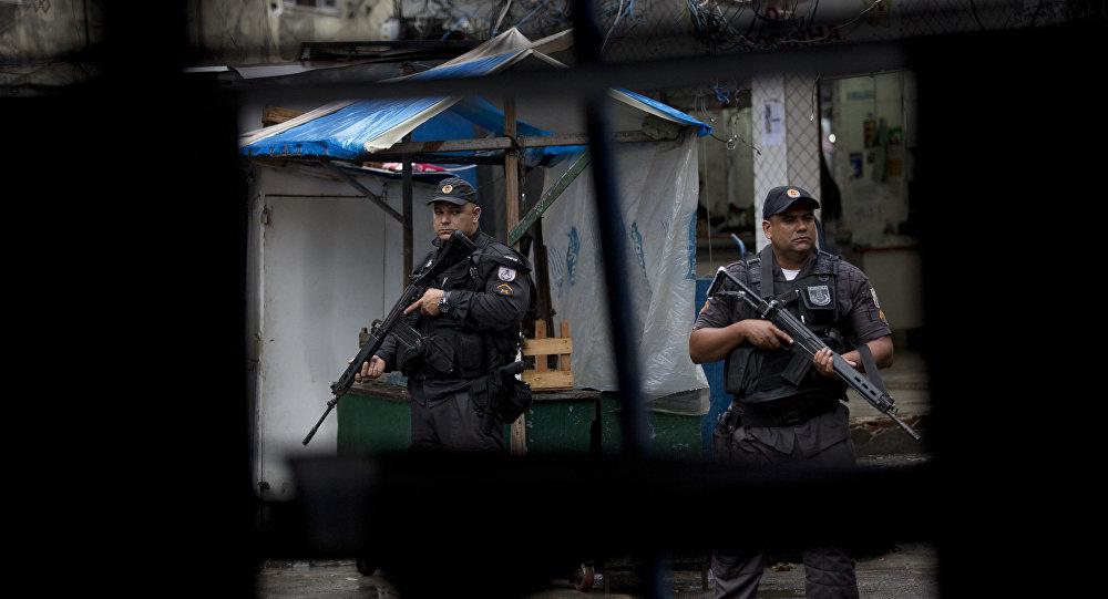Policía militar brasileña (imagen referencial)