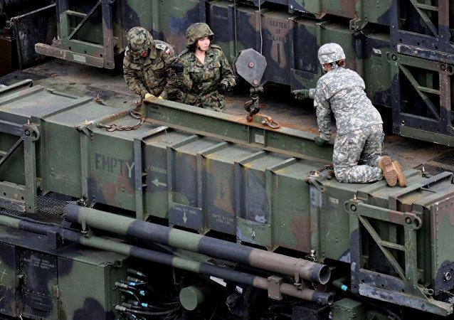 Un sistema de misiles Patriot en Polonia (imagen referencial)