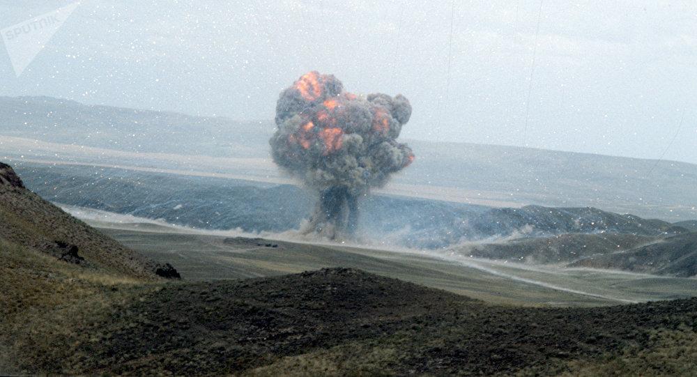 Destrucción de misiles de alcance medio y más corto (archivo)