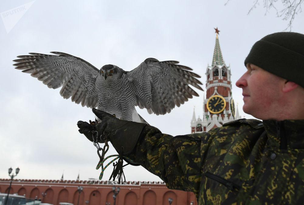 Los inusuales guardianes del Kremlin