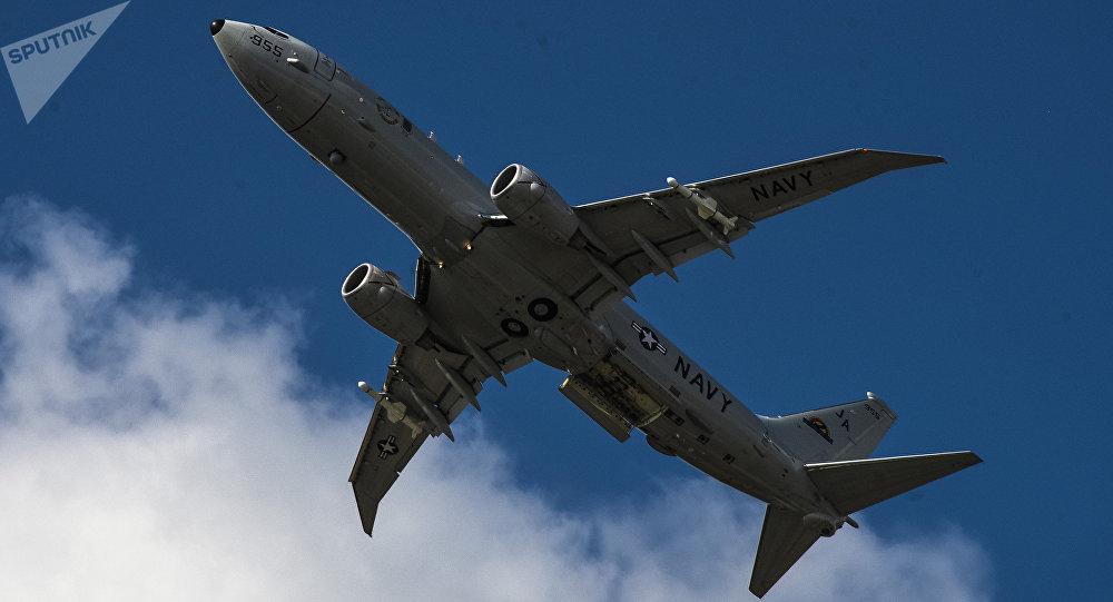 Avión espía de EEUU Boeing P-8A Poseidon