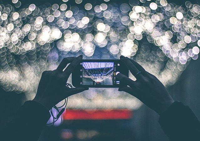 Un smartphone (imagen referencial)