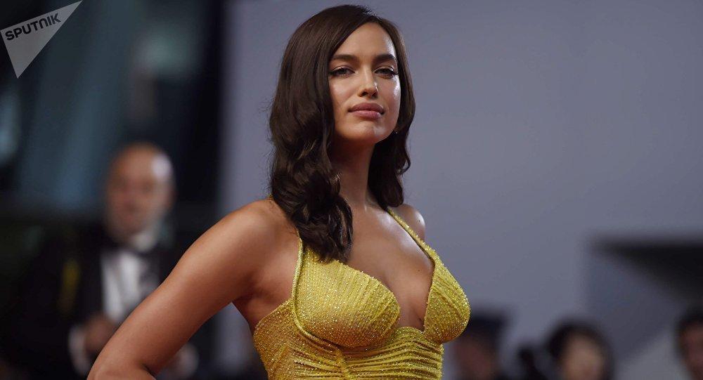 La modelo rusa Irina Shayk (archivo)